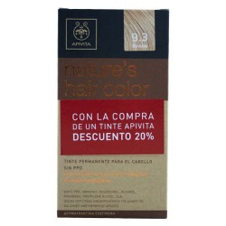Comprar Apivita Tinte Nature's Hair Color 9.3 Vainilla