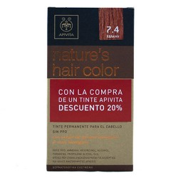 Apivita Tinte Nature's Hair Color 7.4 Cobrizo