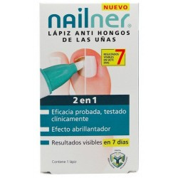 Nailner 2en1 Lápiz Anti Hongos Uñas 4ml