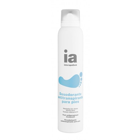 Interapothek Desodorante Pies Spray 200ml