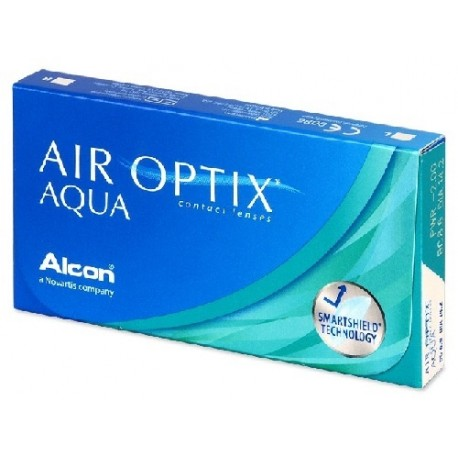 Lentes Air Optix Aqua 8,6 6 Unidades