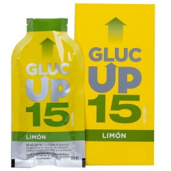 GLUC UP LIMON 15 GR X 5 STICKS DE 30 ML