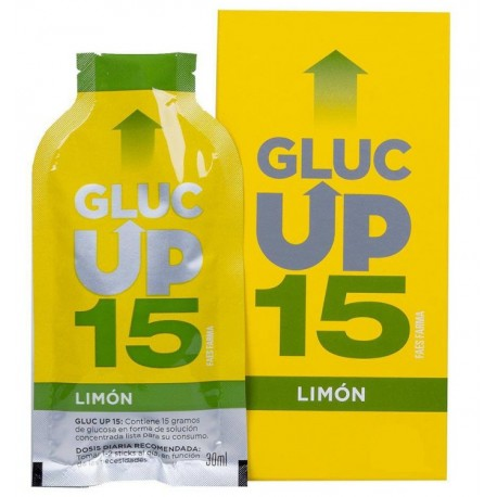 Gluc Up Limón Sticks 5x30ml