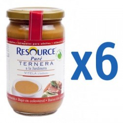 Comprar Resource Puré Ternera a la Jardinera 6x300g