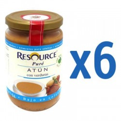 Comprar Pack Resource Puré Atún con Verduras 6x300g