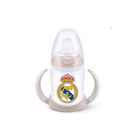 Nuk Biberón Aprendizaje Real Madrid  6-18m 150ml