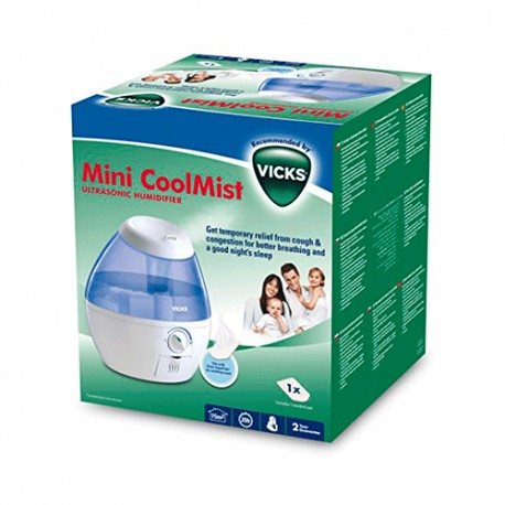 Vicks Humidificador Mini Cool Mist VUL520E4