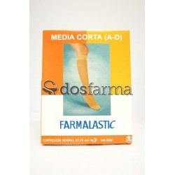 Farmalastic Media Corta Compresión Normal Talla G