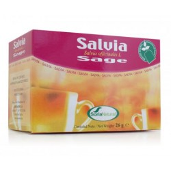 Soria Natural Salvia Infusión 20 filtros