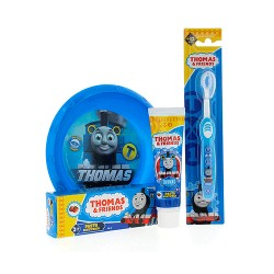 Comprar Kin Thomas and Friend pack Pasta + Cepillo + Bol