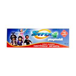 Kin Pasta Dental Super4 Playmobil 75ml