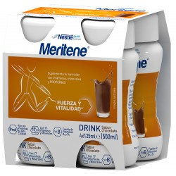 Comprar Meritene Drink Chocolate 4x25ml