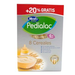 Comprar Hero Baby Pedialac Excellence 8 Cereales 600g