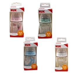 Nuk Biberón First Choice Silicona 0-6m 150ml