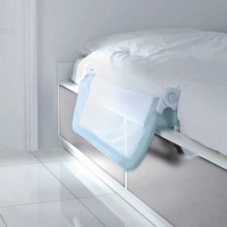 Lindam Barrera Seguridad Cama EASY FIT Azul