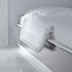 Lindam Barrera Seguridad Cama EASY FIT Gris