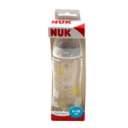 Nuk Biberón First Choice Silcicona 6-18m 300ml
