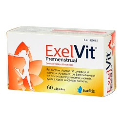 Comprar Exelvit Premenstrual 60 Cápsulas