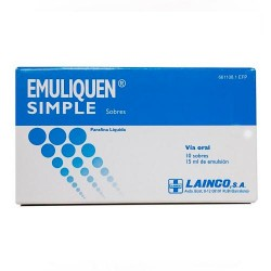 Comprar Emuliquen Simple 7.17g 10 Sobres Emulsión Oral 15ml