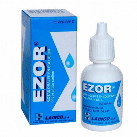 Ezor 7.5mg/ml Gotas Orales 1 Frasco Sol 25ml