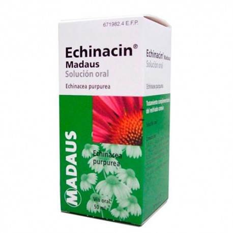 Echinacin Madaus 800mg/ml Solución Oral 50ml