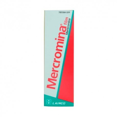 Mercromina Film Lainco 20mg/ml Solución Tópica 30ml