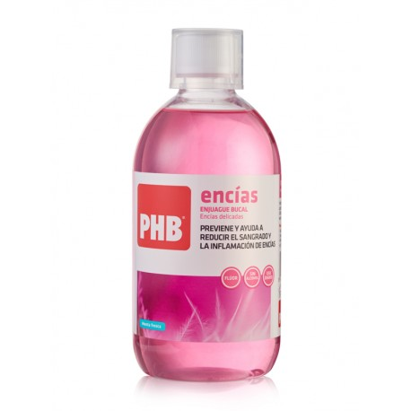 PHB Enjuague Bucal Encías 500ml