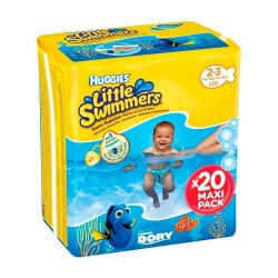 Huggie Little Swimmers Talla 2-3 20 Unidades