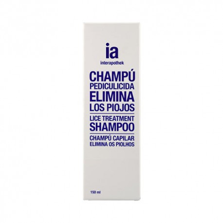Interapothek Champu Antipiojos 150 Ml