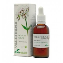 Extracto Valeriana Soria Natural 63.9mg/ml Gotas Orales 50ml