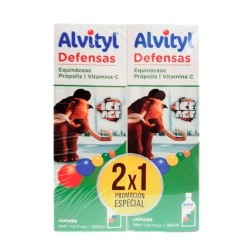 Comprar Alvityl Jarabe Defensas Pack 2x240ml