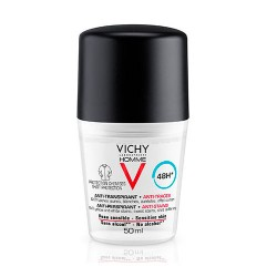 Vichy Homme Roll-On Antitranspirante Pieles Sensibles