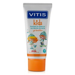 Comprar Vitis Kids Gel Dentífrico Sabor Cereza 50ml