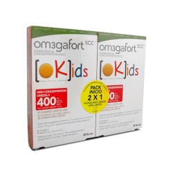 Omegafort Kids Pack Inicio 60 Gominolas