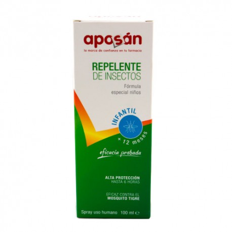 Aposán Repelente Infantil Spray +12m 100ml