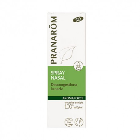 Pranarom Spray nasal Descongestiona la nariz BIO (Eco) 15 ml