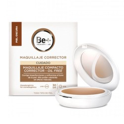 Be+ Maquillaje Compacto SPF30 Oscuro 10 gr