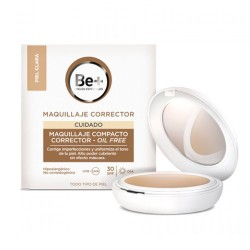 Be+ Maquillaje Corrector Compact SPF30 Piel Clara 10g