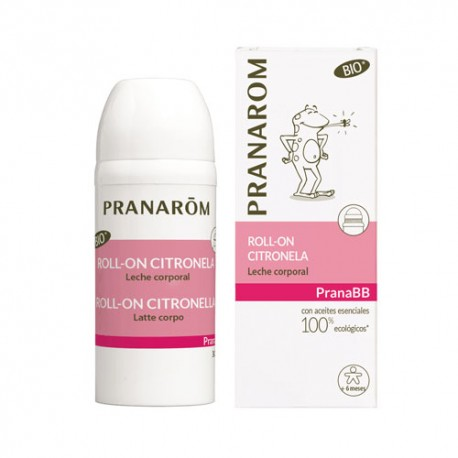 Pranarom Roll-on Citronela Leche Corporal BIO (Eco) 30 ml