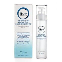 Be+ Emulsion 24h Desensibilizante Ligera SPF20 50 ml