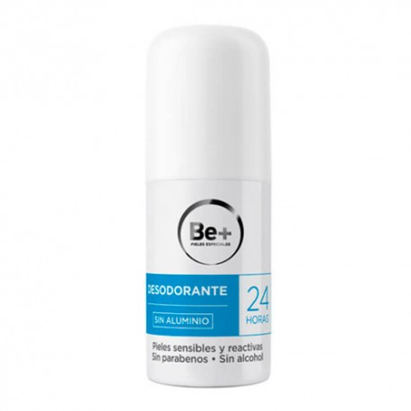 Be+ Desodorante 24h sin Aluminio 50 ml