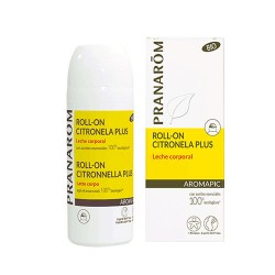 Roll-on Citronela Plus - Leche corporal BIO (Eco)* - 75 ml