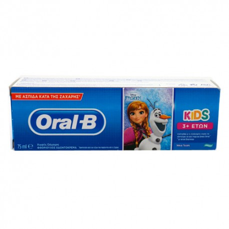 Oral B Pasta Dental Stages3 Cars/Frozen 75ml
