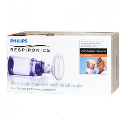 Philips Respironics Cámara Optichamber Diamond con Mascarilla Neonato 0-18m