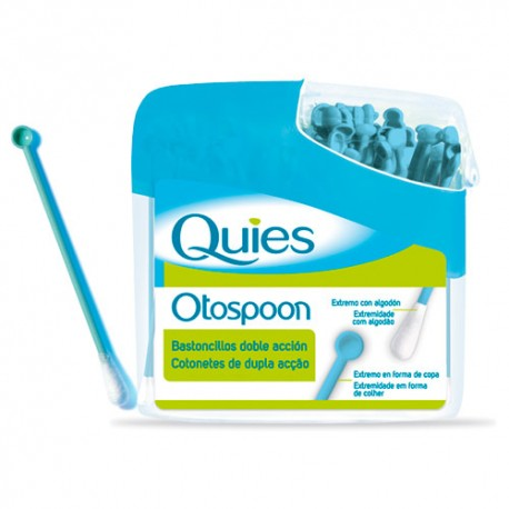 Quies Otospoon Bastoncillos Doble Accion 100uds.