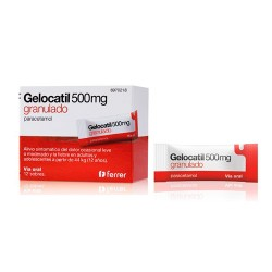 Comprar Gelocatil 500 mg 12 Sobres Granulado