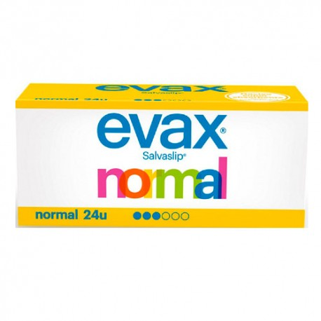 Evax Salvaslip Normal 24 Unidades
