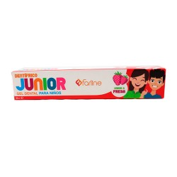 Farline Gel Dentífrico Junior Sabor Fresa 50ml