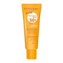 Bioderma Photoderm MAX Aquafluido Con Color Toque Seco Color Claro SPF50+ 40ml.