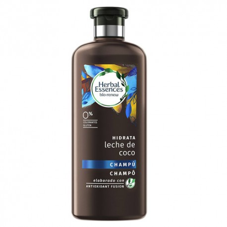 Herbal Essences Champú Hidrata Leche de Coco 400 ml